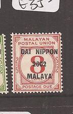 Malaya Jap Oc MPU Postage Due DN SG JD31 MNH (2ayo)