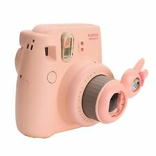Rabbit Close-UP Lens Self-Portrait Mirror For Fujifilm Instax Mini 8 7S Pink