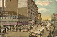 Atlantic City, NEW JERSEY -  Boardwalk - Young's Hotel -  Rolling Chairs