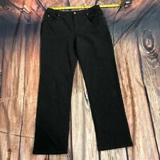 12215e52428 Jones New York Sport Shape Control Women Casual Pants Size 12 Gray Stretch  D114