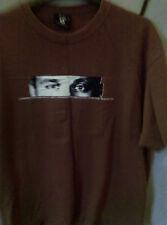 Nemanja Vidic T-shirt, Manchester United, Man Utd, brown, size xl