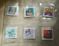 """General Mills Cereal 1995 Disney 2"""" Pocahontas Embroidered Sticker 6 Patches"""