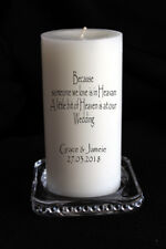 My Baptism Day Dedication Personalised Keepsake Candle  #1