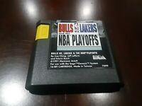 Bulls vs. Lakers and the NBA Playoffs (Sega Genesis, 1991 Cartridge only - Teste
