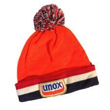 Unox Beanie Netherlands Tri Color Block Official Famous Orange Wooly Hat