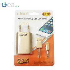 LINQ Adattatore USB Con Cavo Dati Per iPhone 5/5s/5c iTouch 5 iPhod nano G-5201