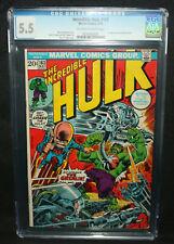 Incredible Hulk #163 - 1st App of the Gremlin - CGC Grade 5.5 - 1973