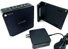 ASUS CN60 Mini Desktop Computer Intel 1.4GHz Chromebox 2GB 16GB SSD HDMI