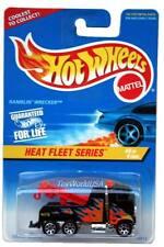 1997 Hot Wheels #540 Heat Fleet #4 Ramblin' Wrecker 0910crd 7 spk