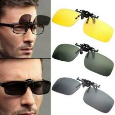 Sunglasses Clip On Flip Up Driving Glasses Sun Mens Womens Fashion Eyewear New