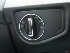 VW Passat 3B/3BG/3C/CC B6/B7/35 Scirocco 13 Aluring Alu Lichtschalter R-LINE R36