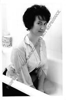"""1950s Pin-Up B&W Risque Photo 6.5""""x4"""" Beautiful Brunette Posing in Lingerie 20FC"""