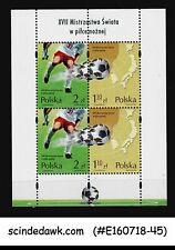 POLAND - 2002 27th WORLD CUP OF FOOTBALL SOCCER - MIN/SHT MNH