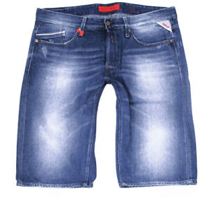 REPLAY WAITOM SHORT HERREN JEANS – W36 tirmar grover jennon**TOP 2021 **
