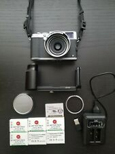 Fujifilm X100S 16.3 MP Digital Camera - Silver (grip, lens attachment & more!)