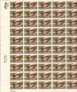 US Stamp - 1975 Movie Maker D.W. Griffith - 50 Stamp Sheet #1555