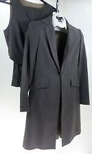 Reed Hill Ladies Saddleseat suit 3 piece Medium Brown  stripe poly 10 - USA