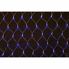 180 LED Blu & Bianco Indoor & Outdoor Luci di Natale Decorazione Net Con Multi