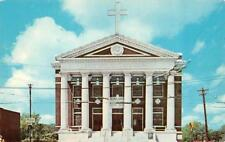 SHREVEPORT, LA Louisiana  FIRST METHODIST CHURCH~Texas Street   Chrome Postcard