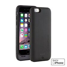 100% Genuine iPhone 6/6S CasePower 3000 mAh Portable Battery Case Black