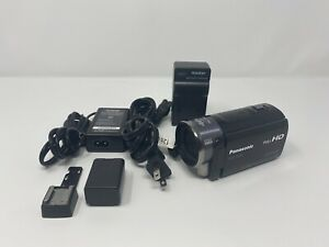 Panasonic HDC-TM90 (16 GB) High Definition Camcorder, With Batter, Charger, Cord