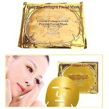 3 x Gold Premium Colágeno Bio Anti Envejecimiento Hidratante mascarilla libre de arrugas