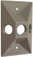 NEW Bell Outdoor #5189-5 GRY WP Lampholder Cover