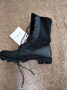 wellco jungle boots black 8m