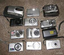 12 Compact Digital Cameras Inc. Canon, Nikon & Lumix