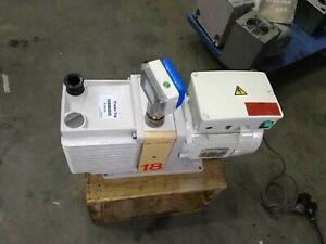 Edwards E1M18 Rotary Vane Single Stage Vacuum Pump, 220V, Working