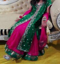 Girls lengha heavy partywear anarkali salwar kameez Pakistani dress
