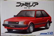 1980 Mazda Familia 323 BD 80 JDM 1:24 Aoshima 055892