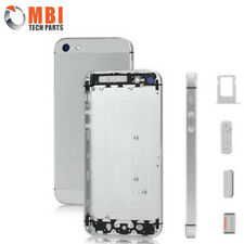 iPhone 5 5G Replacement Metal Back Housing Cover Case & Buttons Silver White