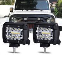 2x CREE LED Work Light Bars Car SUV Offroad Spotlight Work Driving Bulb Fog Lamp