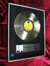 Sotheby's Auction PRESENTED TO MADONNA 1st LP RIAA PLATINUM Record Award Promo