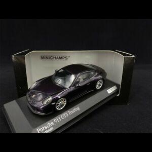 Porsche 911 GT3 Touring Type 991 2017 Viola Métallisé 1/43 Minichamps 413067424