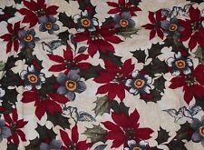 NEW Scrubs ~* Christmas / Winter Print Scrub Top *~  4XL  ~*  Winter Floral