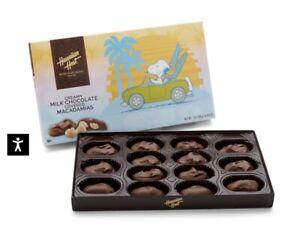 Hawaiian Host Hawaiian Snoopy Milk ChocolateMacadamia Nuts Limited Ed 7oz