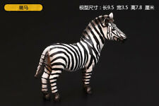 Resin Wild Animal zebra Hand Painted simulation model Figurine Statue