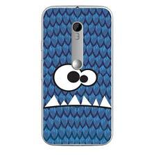 Coque Housse Motorola Moto G3à motif Silicone Gel qualité FR -Monstre personnage