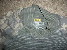 Army Combat Shirt, MASSIF GI Camo ACU Dark Light Olive Elbow Pads Large VGC $30
