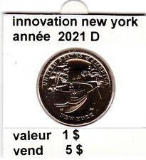 pièces de 1 $  innovation de 2021 P  new york