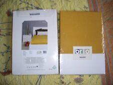 2x Bassetti  Spannbetttuch gelb gold90/100x190/200 cm, 100%Baumwolle/Jersey NEU