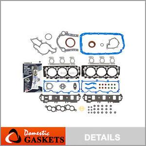 Fits 96-00 Ford Taurus Windstar Mercury Sable 3.0L OHV Full Gasket Set