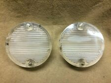 1969,1970 Mustang original thick clear backup light lens w/FoMoCo, SAE-R-69MG
