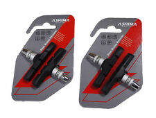 ASHIMA BICYCLE V-BRAKE PADS, 2 x Packs OF 2, Suit: MTB, Road, City Bike