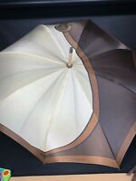 Roberta di Camerino Wood Handle Umbrella Vintage Made In Italy