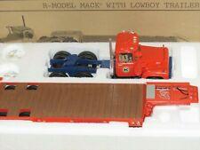 """FIRST GEAR 19-2211 MACK R w/LOWBOY """"ALLIS CHALMERS"""" 1:34 """"NEW"""" RARE"""