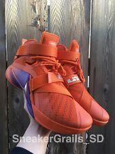 buy online 4f448 16a68 Nike Lebron Soldier 9 IX Promo Sample Player Exclusive PE Phoenix Suns Size  12.5