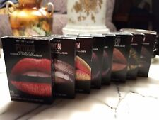 Maybelline NY Python Metallic Lip Kit (Saturated Colors & Lip Shadows)Pick One